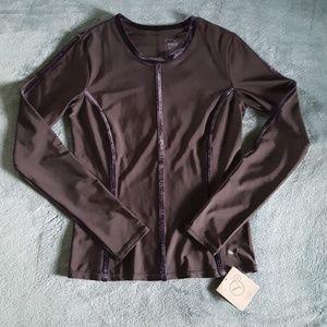 Puma | Dry Cell Long Sleeve Top | Black Velvet